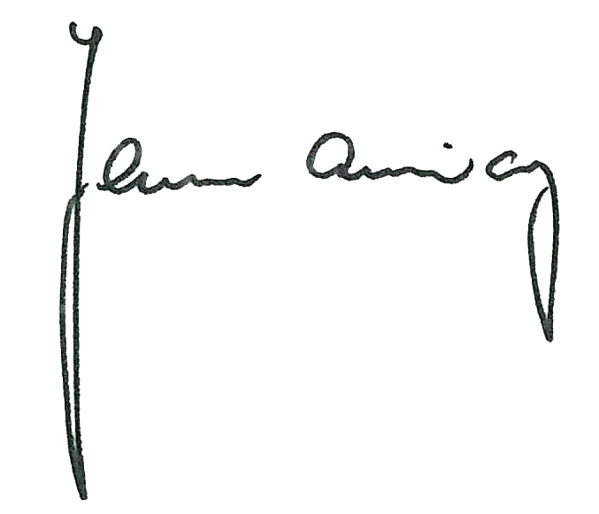 Unterschrift Landrat